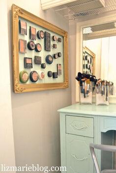 my bathroom organized tips amp tricks, bathroom ideas, organizing, magnetic makeup board