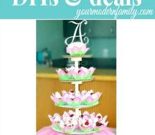 diy cupcake tower with instructions, crafts, DIY cupcake tower