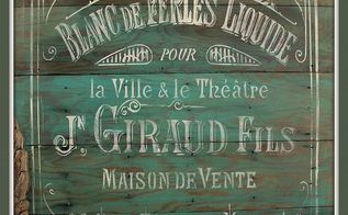 beautiful french pallet art for spring, crafts, home decor, living room ideas, pallet, repurposing upcycling, If I hadn t kept the dresser I just did I would have for sure been keeping this sign