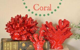 diy faux coral, crafts