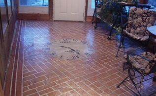painted concrete floors that last and last and last, diy, flooring, painting, porches, finished porch floor