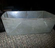 q i have about 20 old metal loaf pans looking for ideas, crafts, repurposing upcycling
