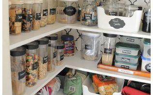 detailed organizing for the kitchen pantry, closet, kitchen design, organizing