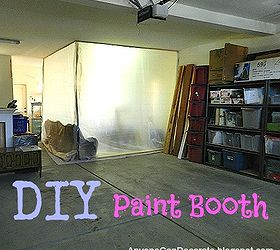 Budget Friendly Spray Paint Booth Hometalk