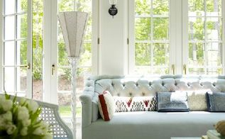 decorating with tufted furniture, home decor, painted furniture