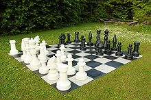 diy a backyard checker and chess board, diy, outdoor living
