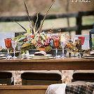 fall entertaining amp decor outdoor harvest thanksgiving table, seasonal holiday d cor, thanksgiving decorations, Outdoor Harvest Table