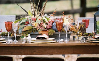 fall entertaining amp decor outdoor harvest thanksgiving table, seasonal holiday d cor, thanksgiving decorations, Outdoor Harvest Table