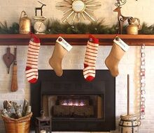 woodsy glam christmas mantel, christmas decorations, seasonal holiday decor