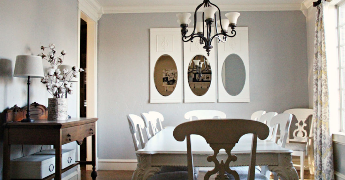 diy wall mirrors for my dining room hometalk