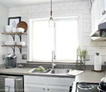 small kitchen makeover, home improvement, kitchen backsplash, kitchen cabinets, kitchen design