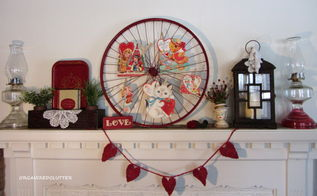 valentine s day mantel, christmas decorations, seasonal holiday d cor, valentines day ideas