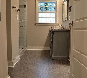 Pink Bathroom Transformation Flip House Hall Bathroom Renovation, Bathroom  Ideas, Flooring, Home Improvement