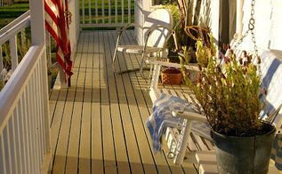 sweet summertime front porch, curb appeal, outdoor living, porches, Simple Summertime porch decor