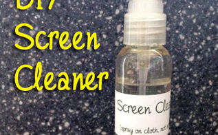 diy screen cleaner for your ipad laptop or tv, cleaning tips, It s easy to clean your electronic equipment with this inexpensive screen cleaner