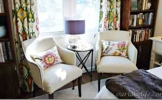 upholstery chair project, home decor, painted furniture, reupholster, Upholstered Chairs