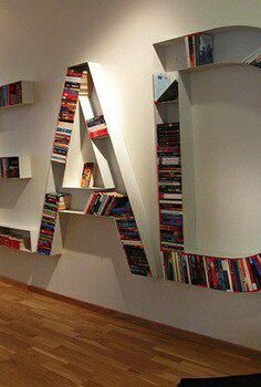 couldn t resist sharing more of these bookshelf pics, home decor, Display bookcase in Stockholm