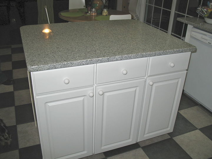 You Want Your Own Island Make One Diy Kitchen Island Diy Home Decor