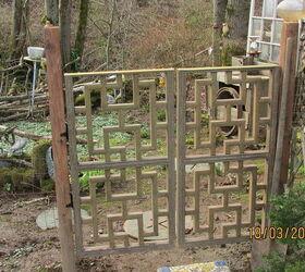 Garden Gate From A Headboard, Diy, Fences, Gardening, Outdoor Living,  Repurposing
