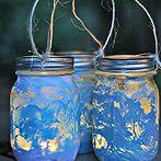 11 brain boosting craft ideas for kids, crafts, Mod Podge Mason Jars via Suburble