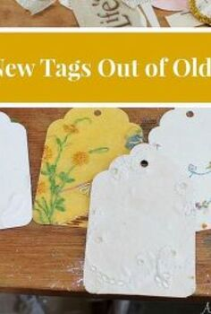 giving new life to old linens, crafts, repurposing upcycling