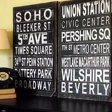diy subway art no die cutter required, home decor