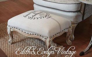 frenchy flea market footstools, home decor