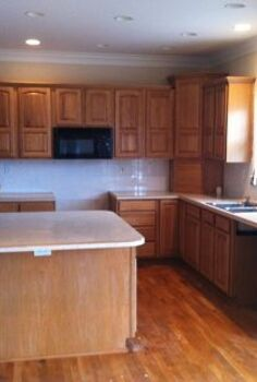 kitchen makeover reveal, countertops, diy, home decor, kitchen design, Before