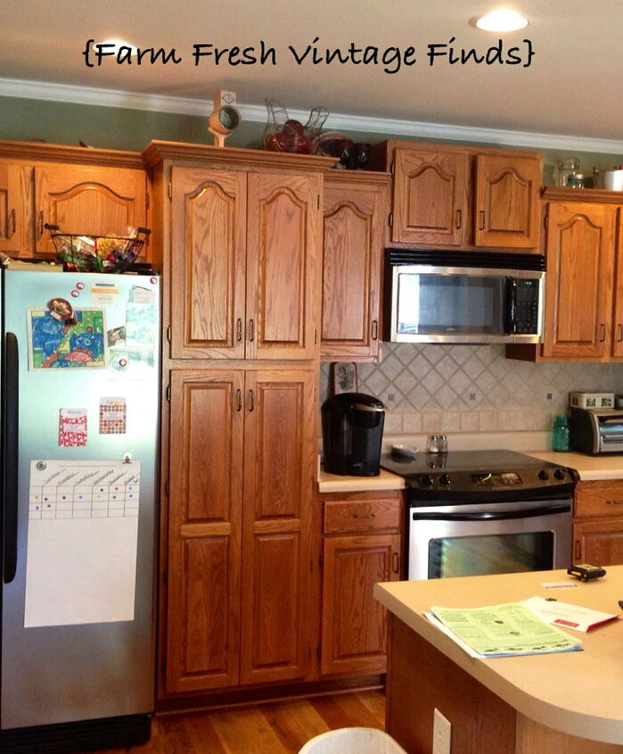 Painting Kitchen Cabinets With Annie Sloan: How To Paint Cabinets Using Annie Sloan The Reveal