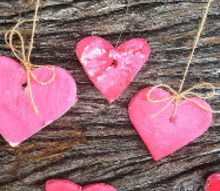 fun valentine s day decorating project to do with kids, crafts, seasonal holiday decor, valentines day ideas, I love the individual look of the hearts