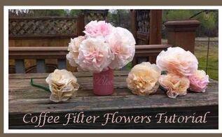 diy homemade flower tutorial, crafts