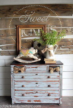 the cutest drawers ever put a bow on it, home decor, painted furniture
