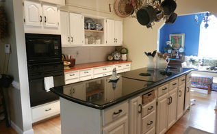 new white kitchen before and after, home decor, kitchen backsplash, kitchen cabinets, kitchen design, Clean and simple and light
