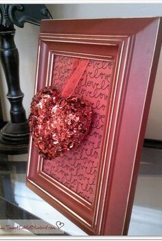 6 simple and sweet diy framed valentine decorations hearts and keys, seasonal holiday d cor, valentines day ideas