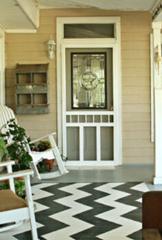 a cozy spot on the front porch, outdoor living, porches, There s only one chance to make a first impression I want people to feel loved and welcome when they come to my front door
