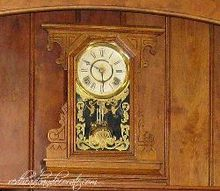clock makeover, home decor