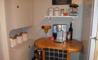 kitchen update, home decor, kitchen backsplash, kitchen design, Our Coffee Center