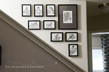 creating a small gallery wall, foyer, home decor, wall decor
