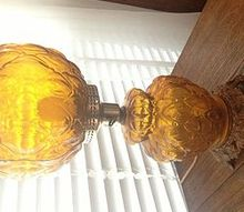 calling antique collectors what is the origin of this lamp, lighting, repurposing upcycling, Sorry about the orientation of the pic I dont understand why sometimes this site will not let me change the orientation aggravating
