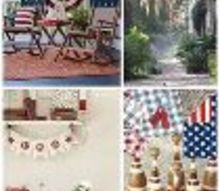 patriotic round up, patriotic decor ideas, seasonal holiday d cor