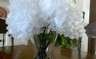 faux flowers, home decor, Display them in water