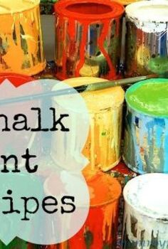 everything you need for all your chalk paint projects, chalk paint, painting, products, You can sign up for my 5 Free Homemade Chalk Paint Recipes
