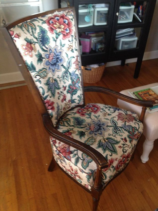 The Painted Fabric Chairs Hometalk