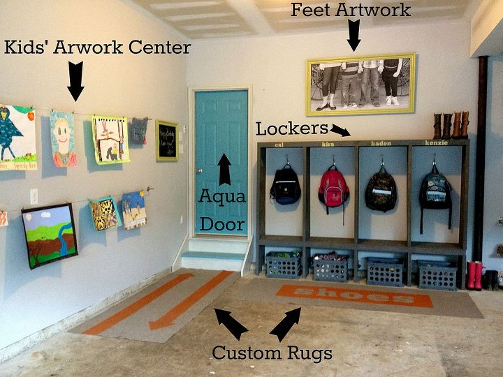 Garage Mudroom Makeover Hometalk
