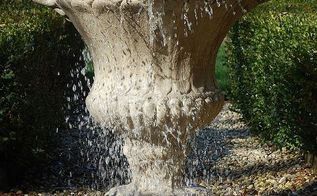 trd designs pondless waterfall amp overflowing urn, outdoor living, ponds water features, New Overflowing Urn