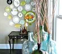 q how to break the decorating rules to show off your unique style, home decor, repurposing upcycling, Broken Rule 4 Art is in the Eye of the Beholder from plate walls to coloring book pages with colorful mats