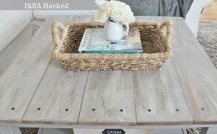 ikea hacked barnboard coffee tabel tutorial, painted furniture