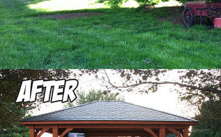 backyard paradise before after, landscape, outdoor living