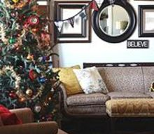 woodsy glam christmas home tour, christmas decorations, seasonal holiday decor, wreaths, The living room has a quirky conglomeration of furniture and accessories but I love it SO much My Memaw s Duncan Phyfe sofa is the star of the show