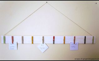 white washed memo board, crafts